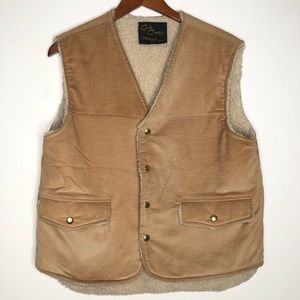 VTG Cal Craft Sherpa lined vest